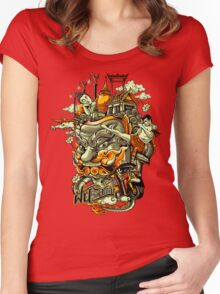 I Dream of Siam Women's Fitted Scoop T-Shirt