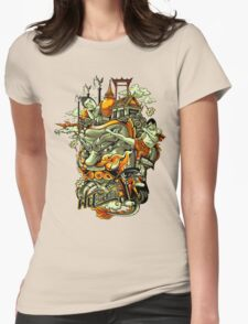 I Dream of Siam Womens Fitted T-Shirt