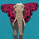 Elephant Butterfly by Wyattdesign