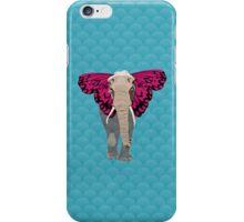 Elephant Butterfly iPhone Case/Skin