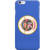 Smartphone Case - State Flag of Minnesota - Vertical iPhone Case/Skin