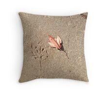 Concrete impression Throw Pillow