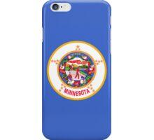 Smartphone Case - State Flag of Minnesota - Horizontal iPhone Case/Skin