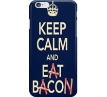 Keep Calm Eat Bacon iPhone Case/Skin