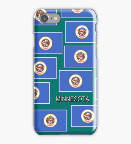 Smartphone Case - State Flag of Minnesota - Horizontal V iPhone Case/Skin