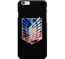 Attack on Titan galaxy Nebula iPhone Case/Skin