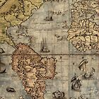 Old World Map by libbbyr