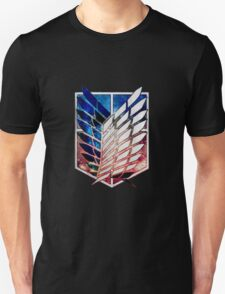 Attack on Titan galaxy Nebula Unisex T-Shirt