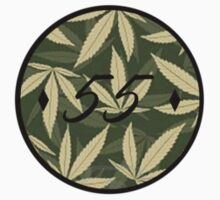 Weed pattern 55 logo by Arcane55