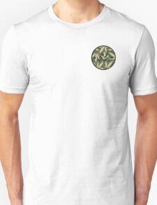 Weed pattern 55 logo Unisex T-Shirt