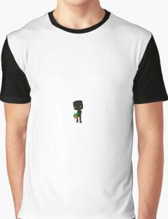 Minecraft Enderman Graphic T-Shirt
