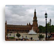 Plaza de España Canvas Print