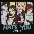 2NE1 Hate You Anime by NiGHTSflyer129