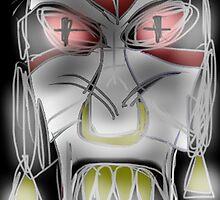 jenlakwa seiye, evil spirit mask by CMProductions
