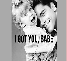 I Got You Babe: Uncle Jesse and Michelle from Full House by libbbyr
