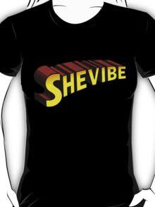 SheVibe Superman Style Logo T-Shirt
