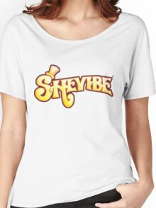 SheVibe Logo - Wonka Style Women's Relaxed Fit T-Shirt