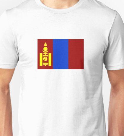 Flag of Mongolia Unisex T-Shirt