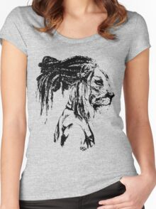 The Lion Man Women's Fitted Scoop T-Shirt