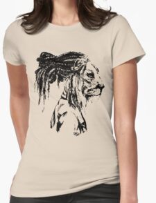 The Lion Man Womens Fitted T-Shirt