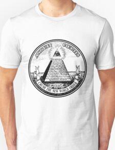CRUSH THE NEW WORLD ORDER Unisex T-Shirt