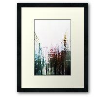 Taking Me Over Framed Print