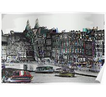 Amsterdam 10 Poster