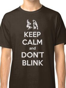 Weeping Angels Keep Calm Classic T-Shirt