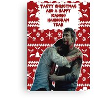 Tasty Christmas [Murder Husbands] Canvas Print
