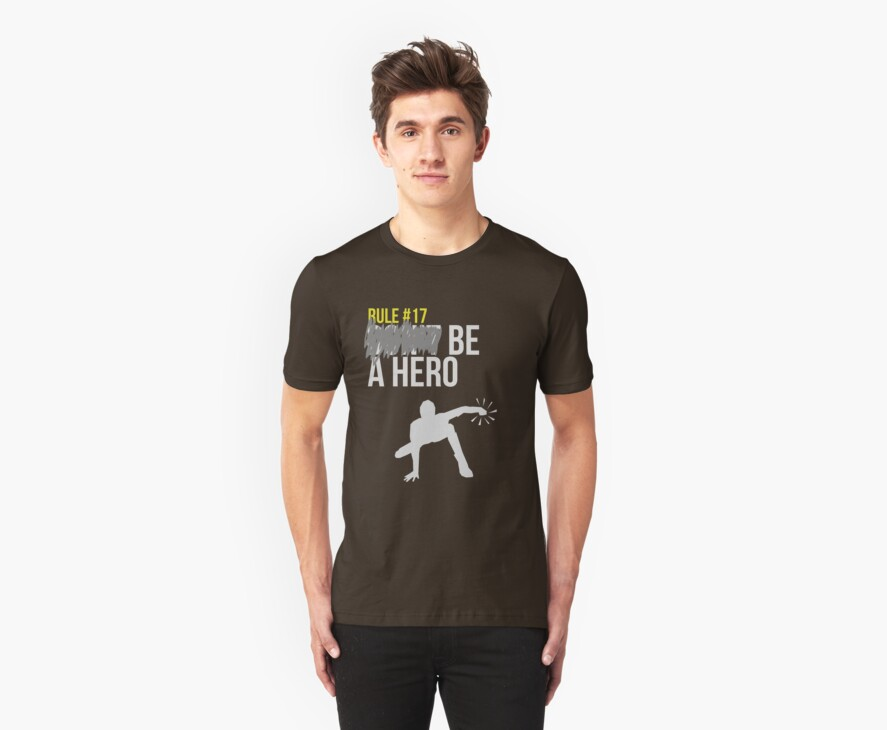 Zombie Survival Guide - Rule #17: Be A Hero by AlexNoir