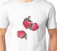 Decorative Strawberry Unisex T-Shirt