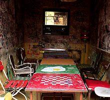 Budapest - Empty Room, Szimpla Kert  by rsangsterkelly