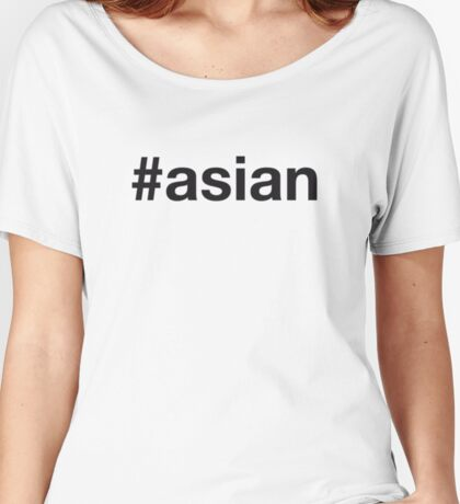 ASIAN Women's Relaxed Fit T-Shirt