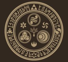 Zelda - Hero's Mark (Brown) by QuestionSleepZz