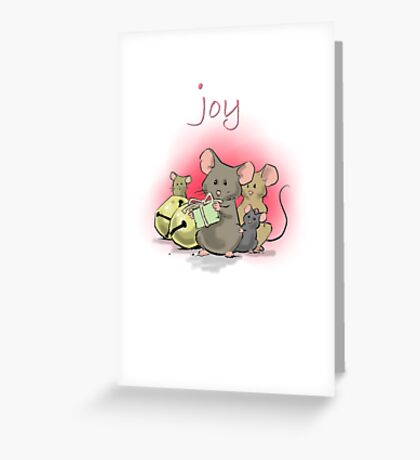 Joy of Giving Greeting Card