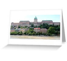 Budapest - The Palace Greeting Card