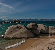 At Whale Beach II - Lake Tahoe by Richard Thelen