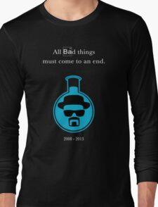Breaking Bad - In Memoriam (Blue Sky Crystal) Long Sleeve T-Shirt
