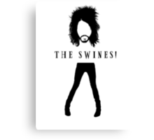 The Swines! T Shirt Canvas Print
