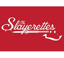 The Slayerettes - RED Photographic Print