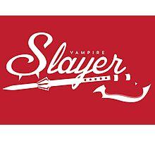 Vampire Slayer - RED Photographic Print