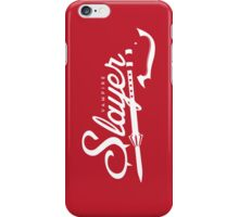 Vampire Slayer - RED iPhone Case/Skin