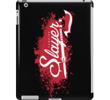 Vampire Slayer - BLACK iPad Case/Skin