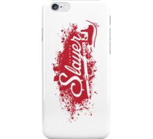 Vampire Slayer - WHITE iPhone Case/Skin