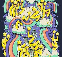 Space Graffiti by goldenapple