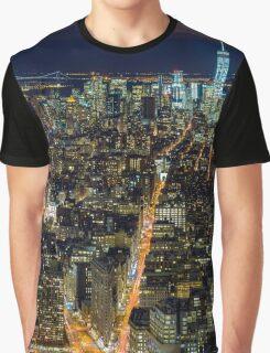 Downtown Manhattan Graphic T-Shirt