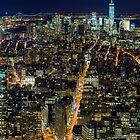 Downtown Manhattan by Randy  LeMoine