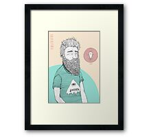 BEARDMAN Framed Print