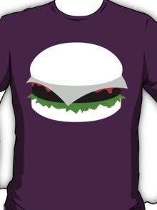black and white hamburger T-Shirt