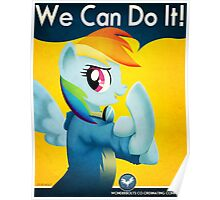 Dashie the Riveter Poster